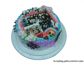 open將相片造型蛋糕