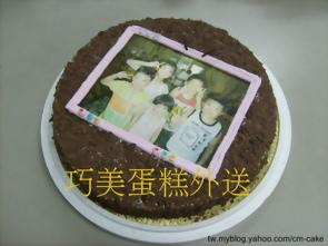 相片電視造型蛋糕