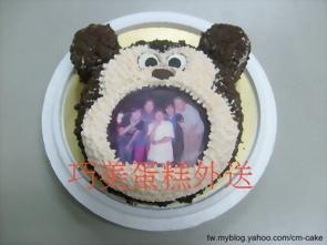 相片米奇造型蛋糕
