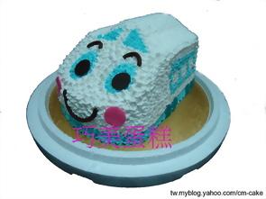 新幹線特快車造型蛋糕