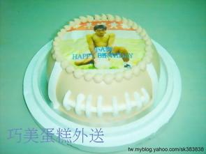 生日(相片+造型)蛋糕