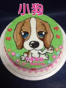 狗造型蛋糕