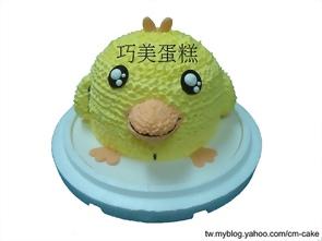 可愛小雞造型蛋糕