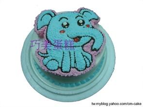 大象造型蛋糕