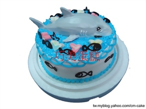 鯊魚造型蛋糕