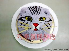 折耳貓造型蛋糕