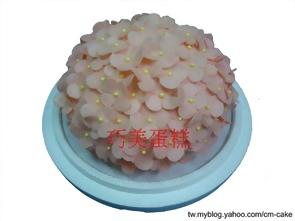 繡球花造型蛋糕