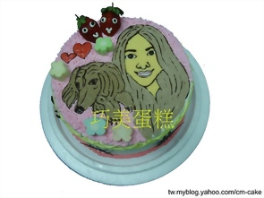 人畫像造型蛋糕