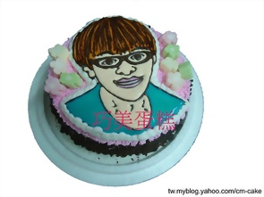 人像畫造型蛋糕