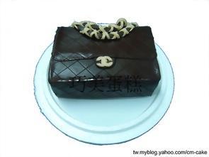 香奈兒包包造型蛋糕