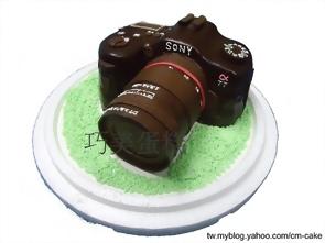 SONY α77單眼相機造型蛋糕