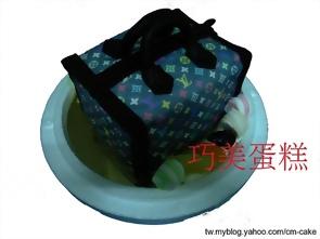 名牌包造型蛋糕