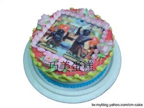 神明相片蛋糕
