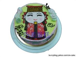 媽祖造型蛋糕