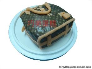BURBERRY 包包+皮夾造型蛋糕
