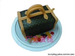 柏金包粉紅色造型蛋糕