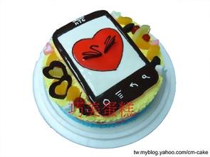 IPHONE4造型蛋糕