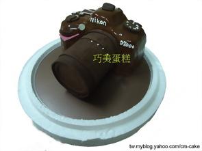NIKON D300s單眼相機造型蛋糕
