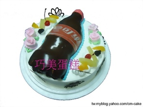 可樂汽水造型蛋糕