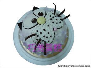 貓咪(氣球)造型蛋糕