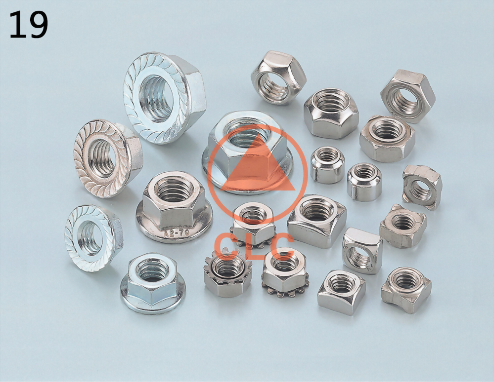 Hex Flange Nuts, Hex Flange Nuts Manufacturer - CLC INDUSTRIAL