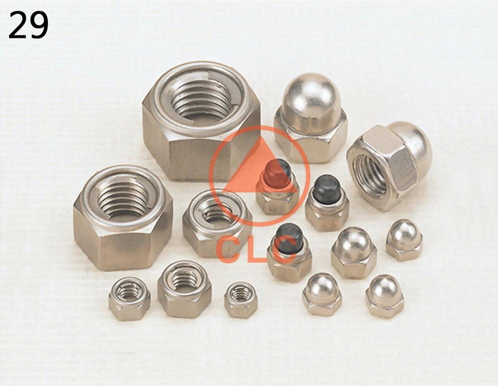 DIN980 Nuts, DIN980 Nuts Manufacturer - CLC INDUSTRIAL