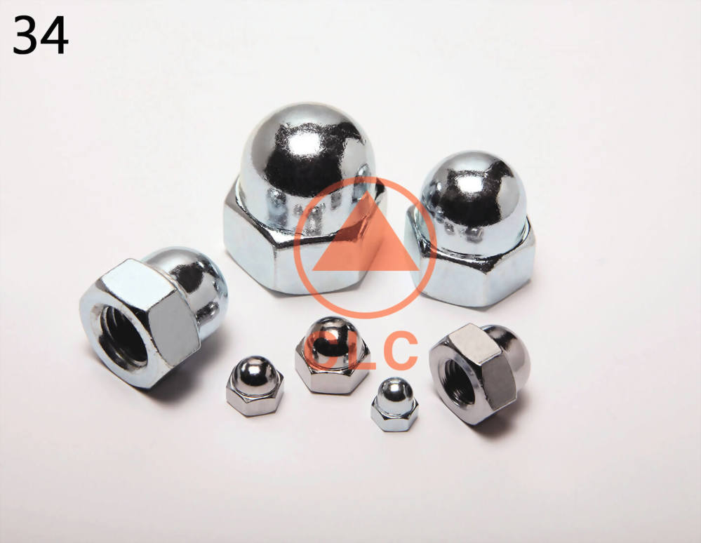 Hex Cap Nuts, Hex Cap Nuts Manufacturer - CLC INDUSTRIAL