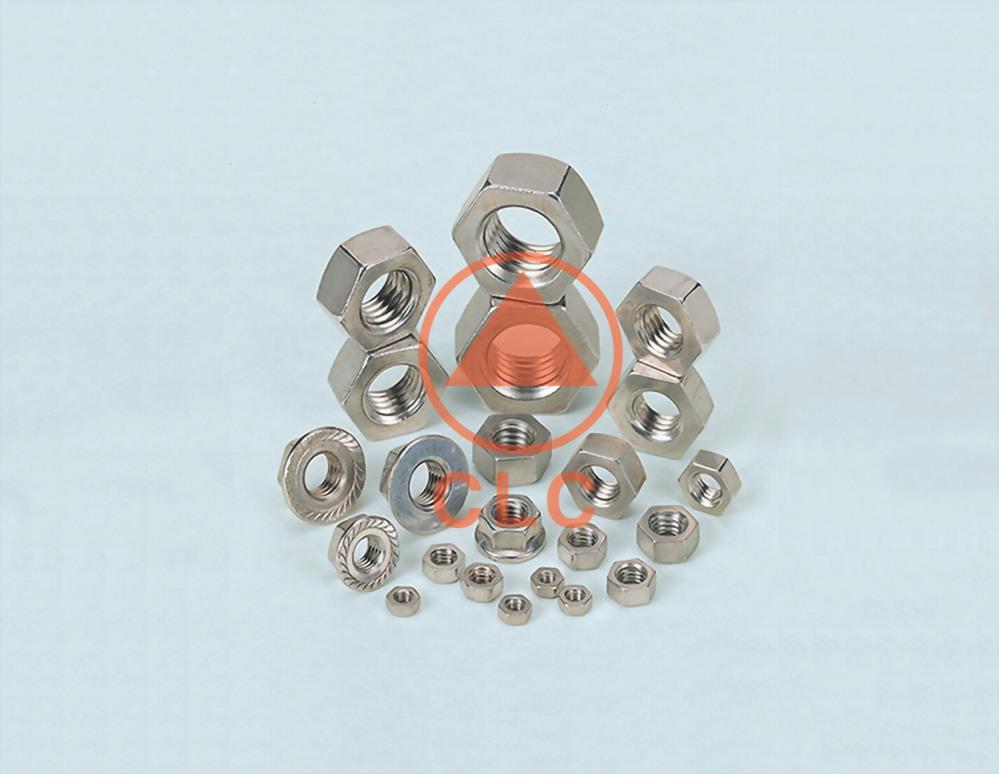 17 螺帽 DIN934/439/UNI5587、IFI FINISH/JAM/HEAVY NUT、DIN6923、HEX FLANGE NUT