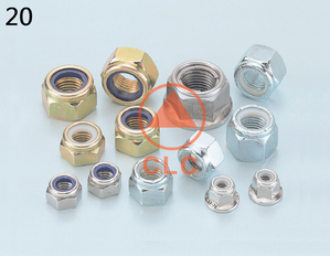Hex Flange Nylon Nuts