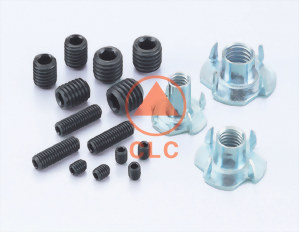 (24) HEX SOCKET SCREWS、DIN912/913/916、ISO7380、 4-PRONG / 3-PRONG T NUT