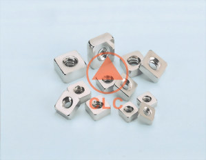 5 螺帽 DIN557、IFI SQUARE NUT WITH SINGLE CHAMFER