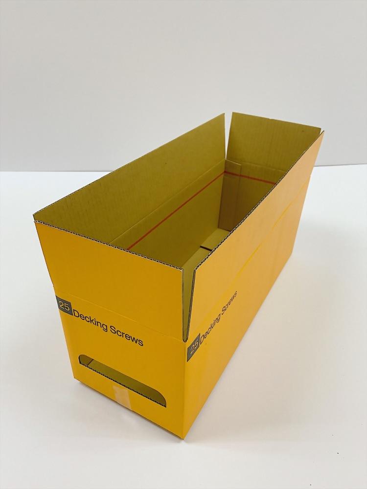 易撕帶紙箱 (範例)