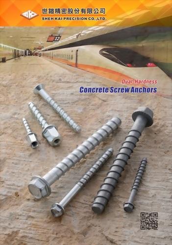 Concrete Screw Anchor (Imperial)