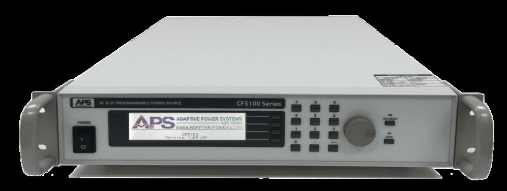 CFS100 系列單相可程式設計交流和直流電源來源 4