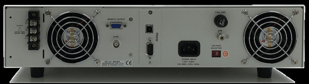 CFS100 系列單相可程式設計交流和直流電源來源 2
