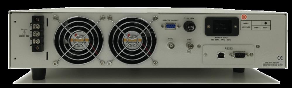 CFS100 系列單相可程式設計交流和直流電源來源 6