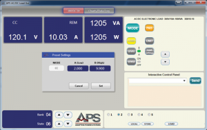 AC Load GUI Software PROGRAMMABLE AC LOAD CONTROL SOFTWARE 2