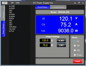 直流電源 GUI 軟體可程式設計直流電源供應控制軟體 3