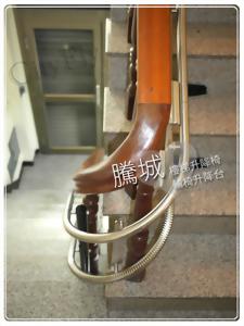 台南U型180度樓梯升降椅