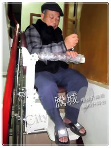 新竹側坐型樓梯升降椅