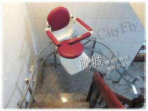台南外彎型樓梯升降椅