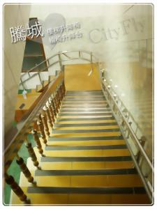 台南外彎型電動爬梯椅