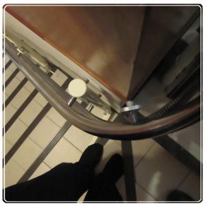 騰城樓梯升降椅-台北內湖蕭家