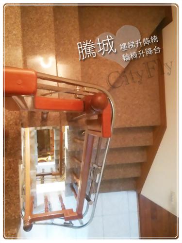 南投井字樓梯升降椅