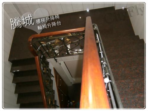 屏東井字樓梯升降椅