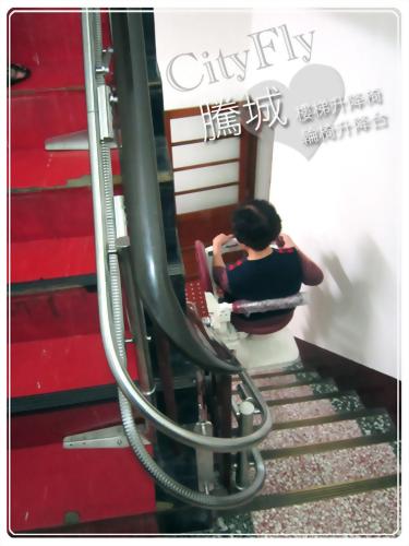 苗栗側坐型樓梯升降椅