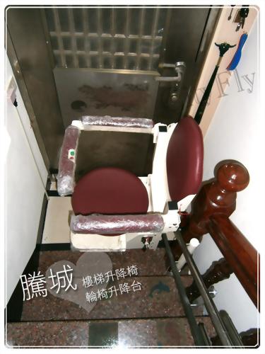 高雄起點直軌樓梯升降椅