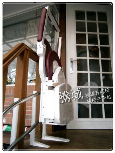 高雄終點直軌樓梯升降椅
