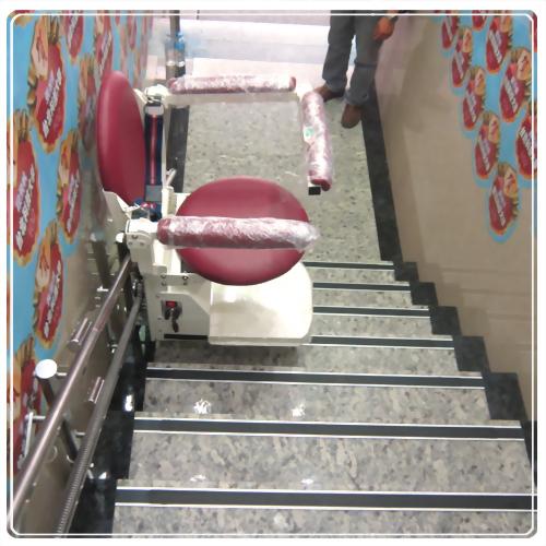 騰城樓梯升降椅-台北中正建功補習班