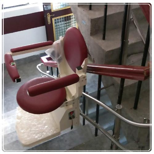 騰城樓梯升降椅-台北中山愛科管理公司